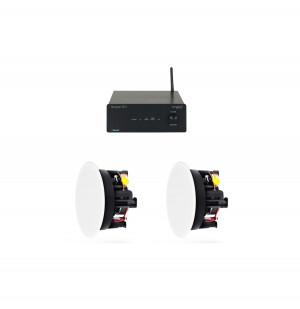 Lille Stereo Pakke med Indbygningshøjttalere