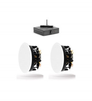 Stor Stereo Pakke med Indbygningshøjttalere