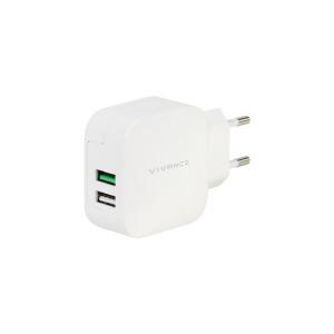 Vivanco Hurtiglader 2 x USB-A 3.4A