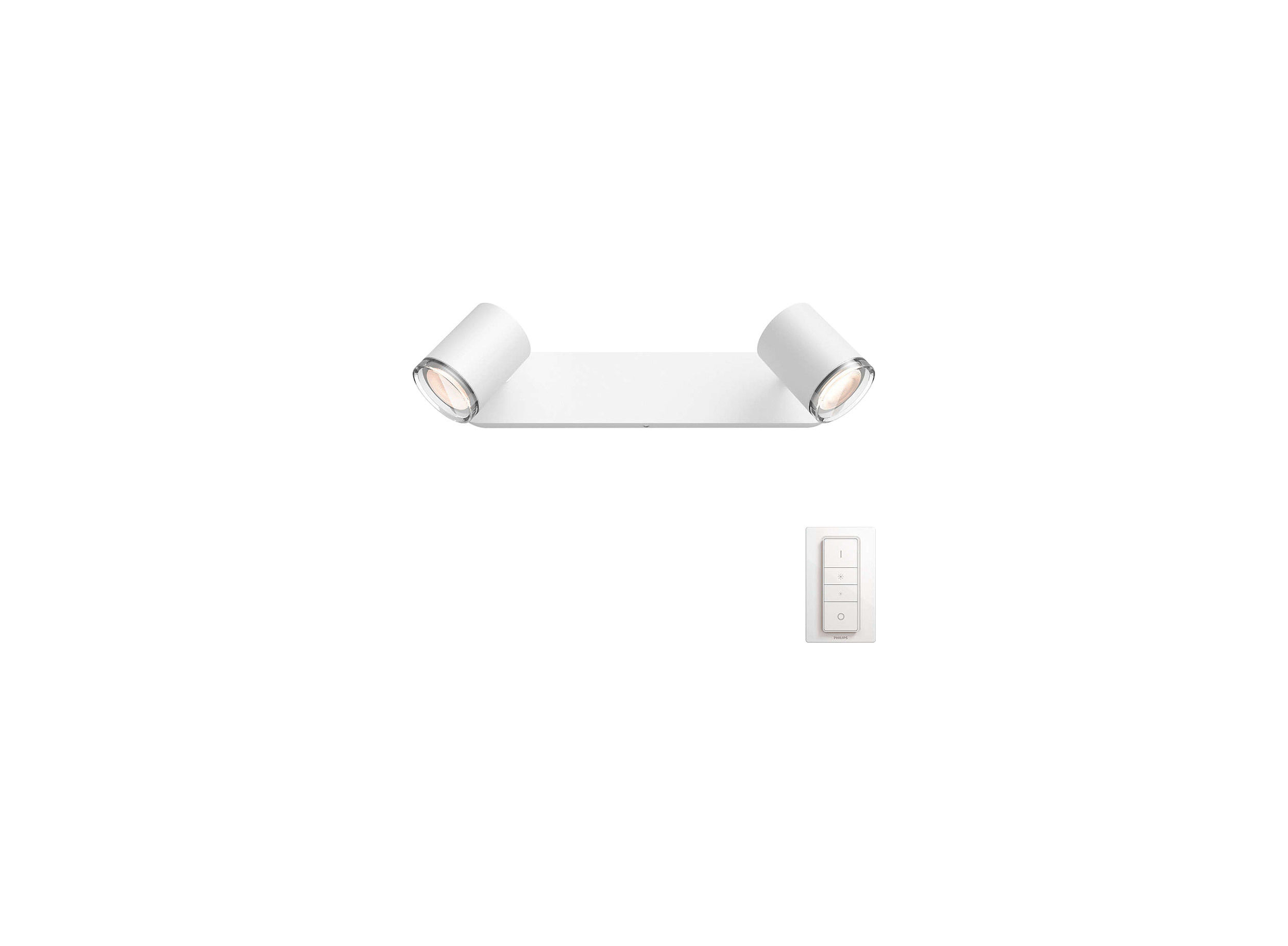 Philips Hue White Ambience Adore 2-Spot-bar