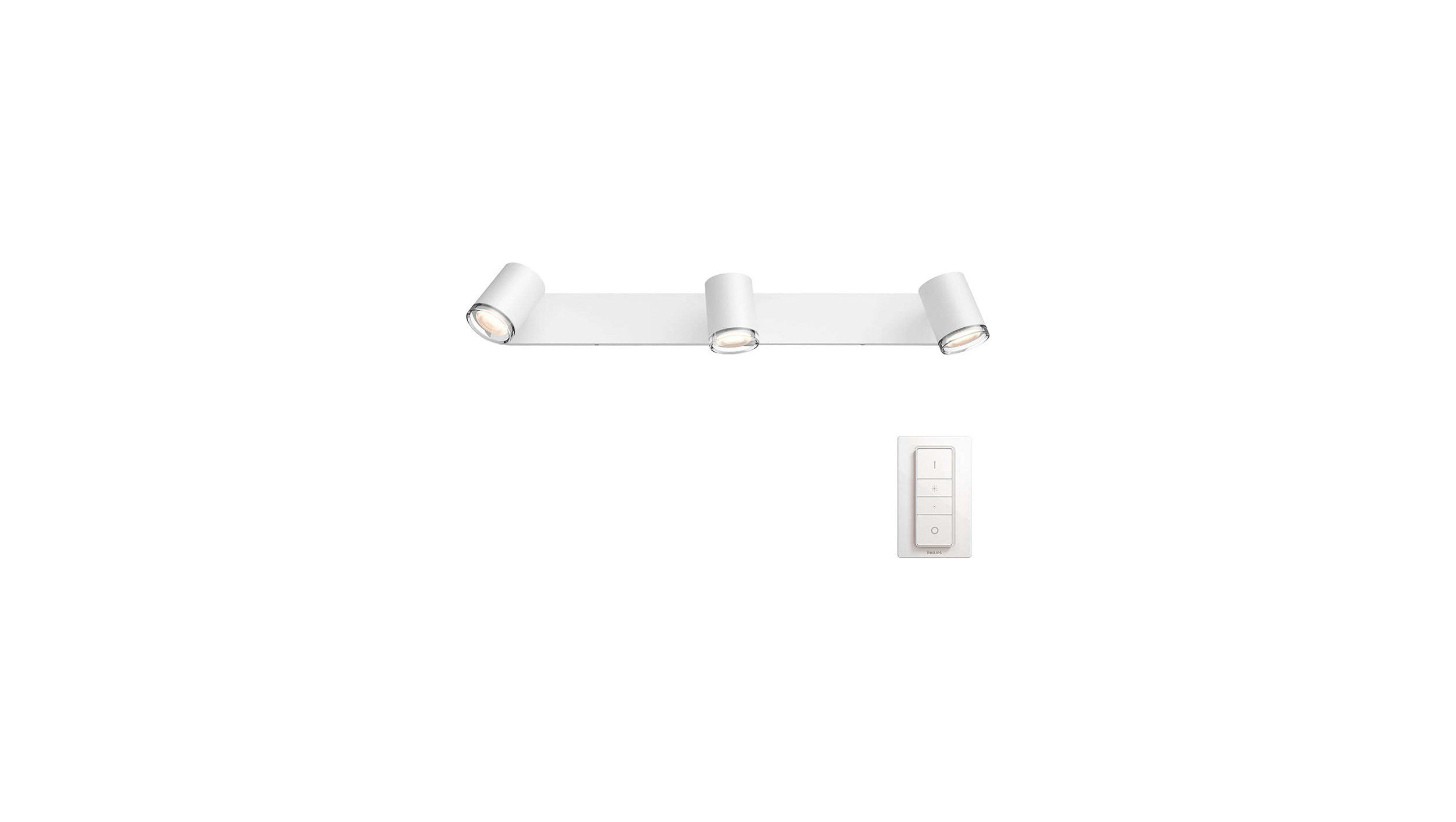 Philips Hue White Ambience Adore 3-Spot-bar