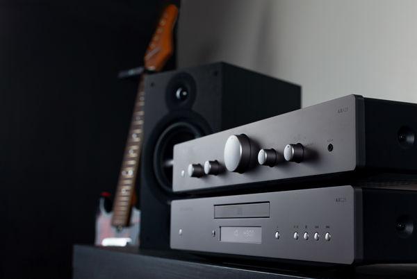 C25 CD med AX 25 Forstærker