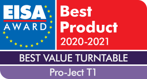 Pro-Ject T1 EISA Award
