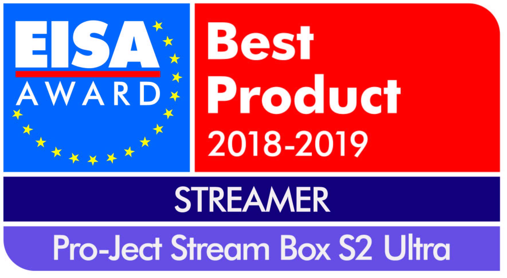 Pro-Ject Stream Box S2 Ultra EISA Award