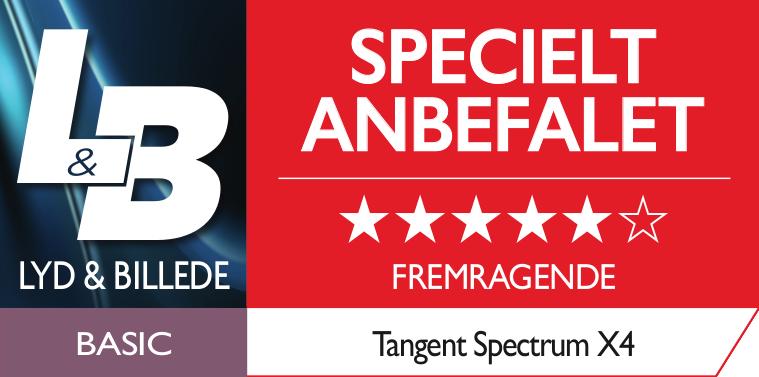 Tangent Spectrum X4 Test