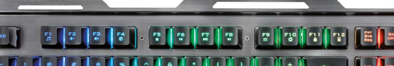 Trust Gaming Tastatur GXT 845